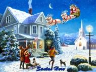 Santas Here