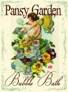 Pansy Garden Bubble
