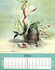20643 Mermaid Calendar