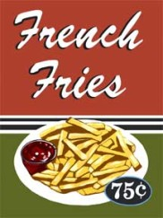 5847 french fries